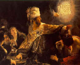 Bible Prophecy Numbers---Belshazzar in Babylon.